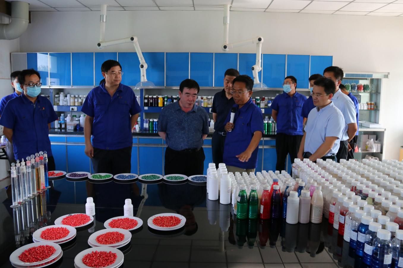 涿州市市长姚运涛一行到北农万博手机登录入口涿州公司考察调研